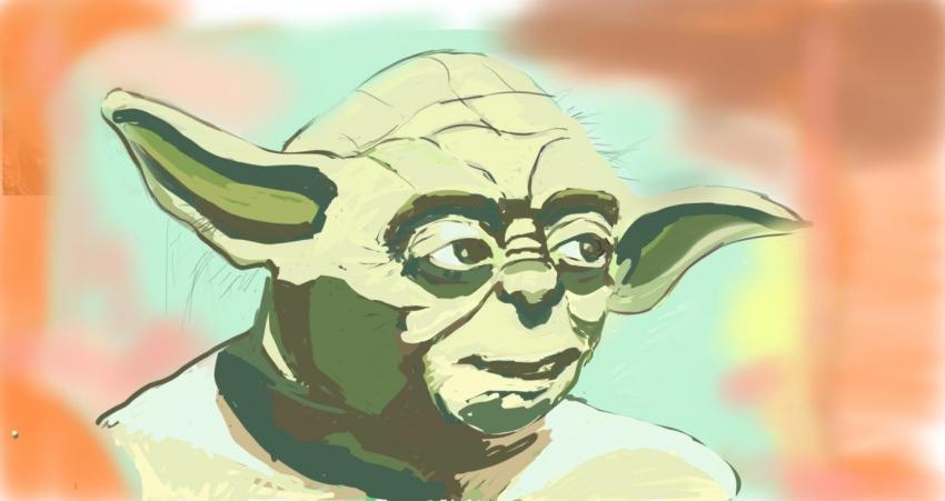 Yoda by ferrokaro